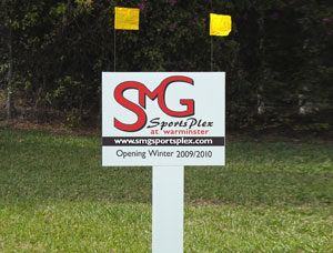 18x24 Commercial Property Site Signs