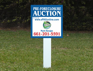 2x2 cheap Real Estate Sign