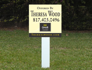 2x2 cheap For Sale Real Estate Signs
