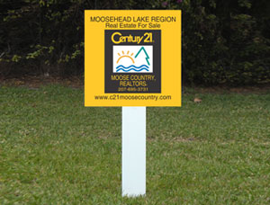 2x4 Property For Sale Signs