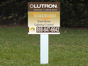 2x2 Outdoor Real Estate Signs