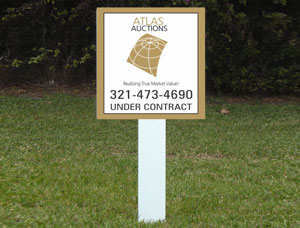 2x2 cheap Outdoor Real Estate Sign