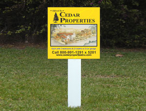 2x2 cheap Real Estate Property For Sale Signs