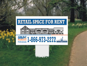 2x4 Property For Rent Signs