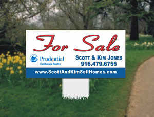 2x4 Commercial For Sale Real Estate Property Signs