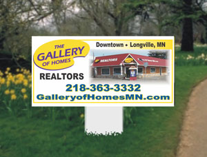 2x4 Commercial Property Site Signs
