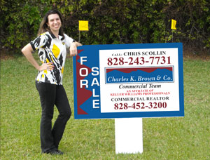 3x4 Commercial Real Estate Signs