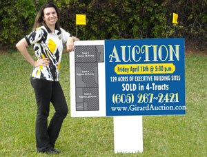 3x4 Real Estate Outdoor Sign