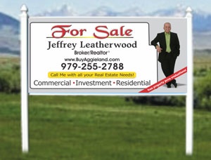 ... 4x8 For Sale Real Estate Site Signs