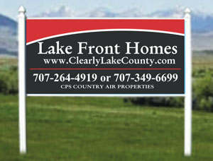 4x8 Commercial Real Estate Outdoor Sign