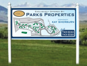 4x8 Commercial Real Estate Property Signs