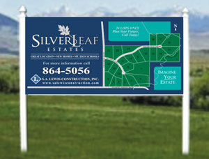 4x8 Commercial Site Signs