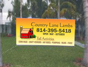 Custom Size Commercial Outdoor Banners
