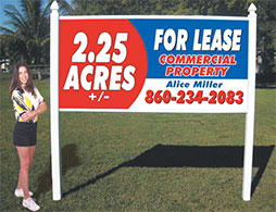 4x8 Signs For Commercial Real Estate Auction