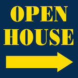 Open House Directional Sign 1
