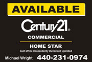 Century 21 Custom Sign Design
