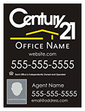 Century 21 Sign with Agent Name