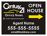 Century 21 Directional Sign