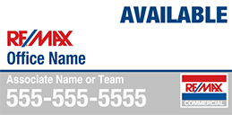 RE/MAX 4ftx8ft Commercial Sign